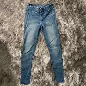 American Eagle Outfitters Jeans - American Eagle Super Super Stretch Extreme Legging